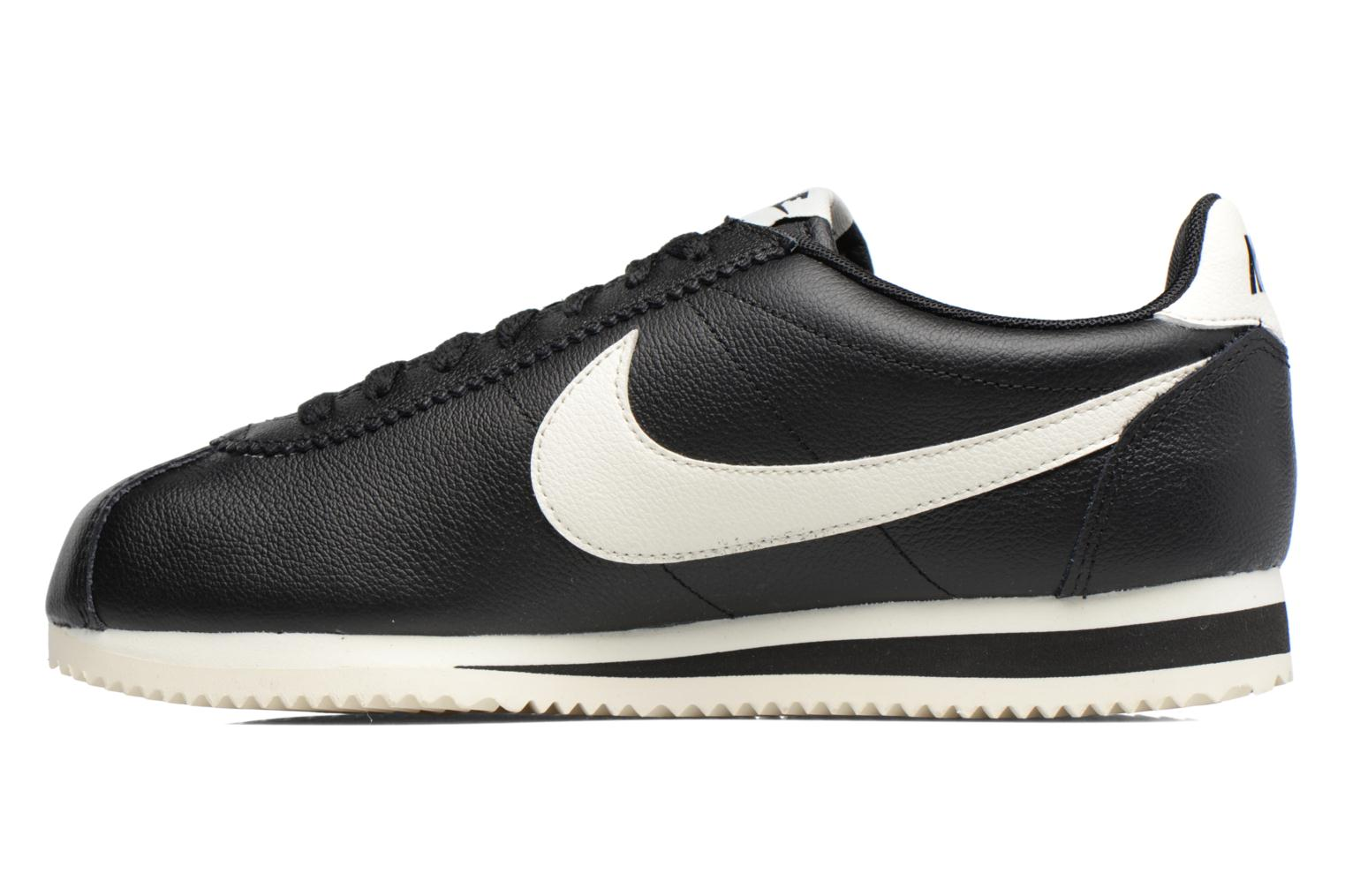 Trainers Nike Classic Cortez Leather Se Black front view