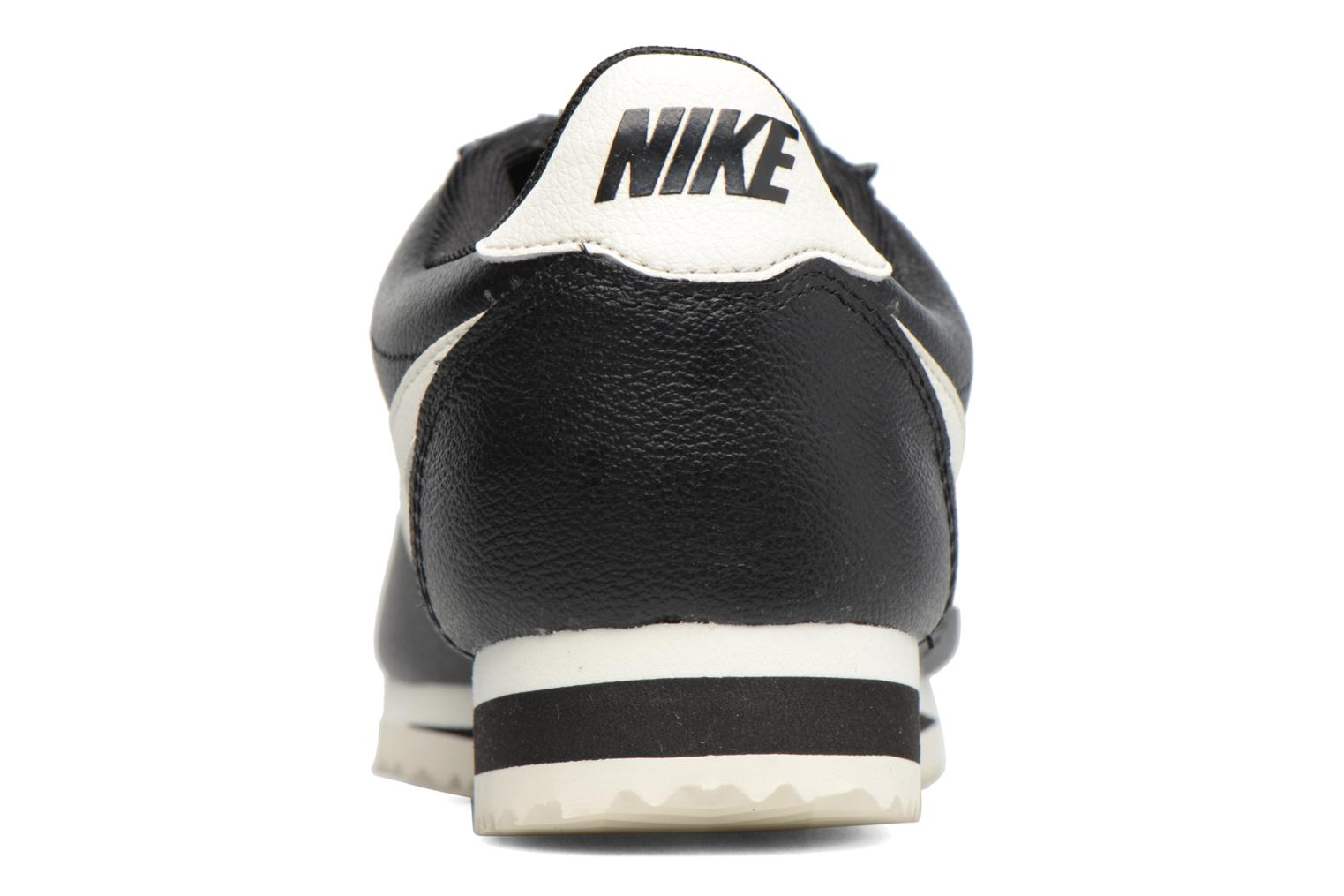 Trainers Nike Classic Cortez Leather Se Black view from the right