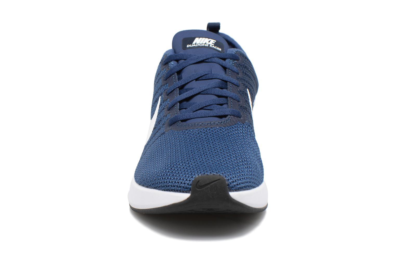 Chaussures de sport Nike Nike Dualtone Racer Bleu vue portées chaussures