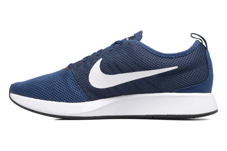 Chaussures de sport Nike Nike Dualtone Racer Bleu vue face