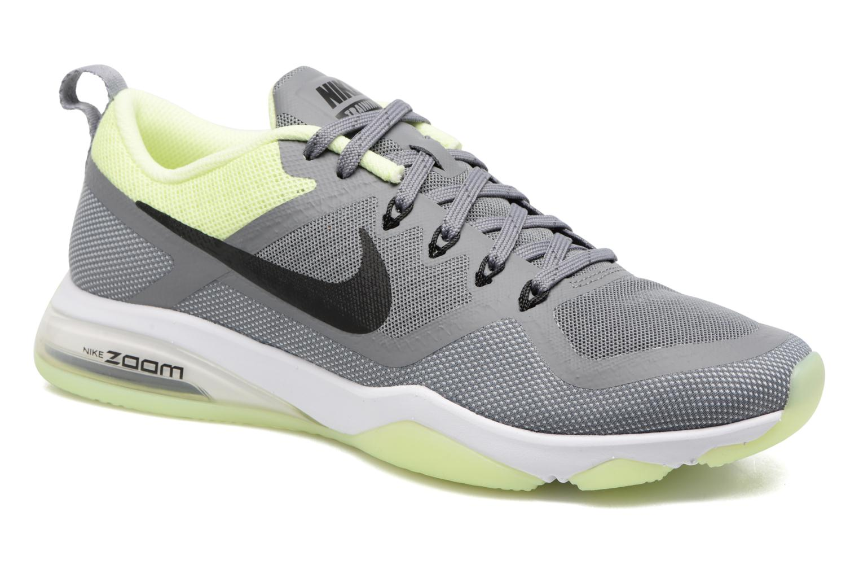 Chaussures de sport Nike Wmns Nike Air Zoom Fitness Gris vue détail/paire