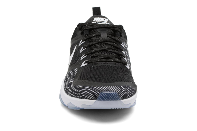 Sportschuhe Nike Wmns Nike Air Zoom Fitness schwarz schuhe getragen