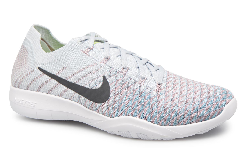 Nike Wmns Nike Free Tr Flyknit 2 Plateado R3e2y1baro