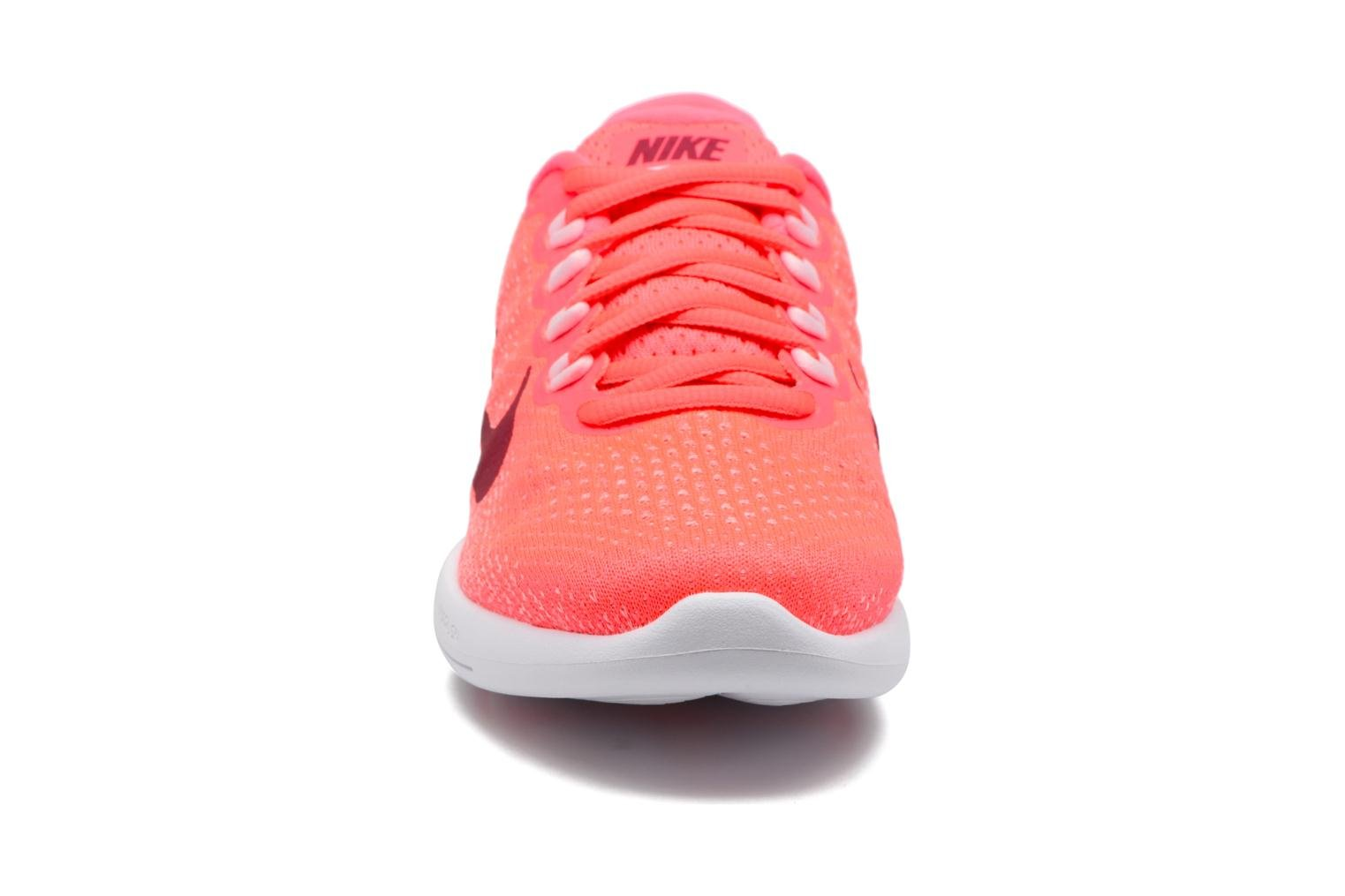 Wmns Nike Lunarglide 9 Hot Punch/Noble Red-Arctic Pink-White