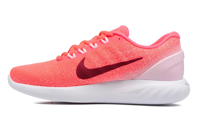Chaussures de sport Nike Wmns Nike Lunarglide 9 Rose vue face