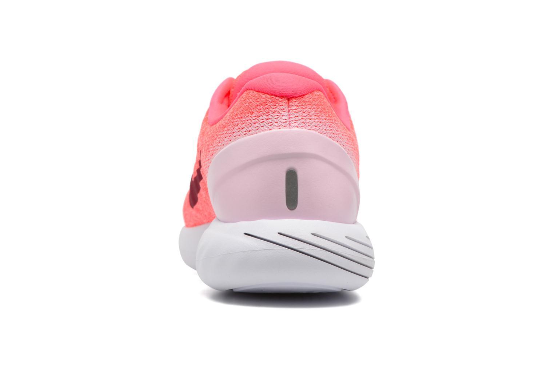 Chaussures de sport Nike Wmns Nike Lunarglide 9 Rose vue droite