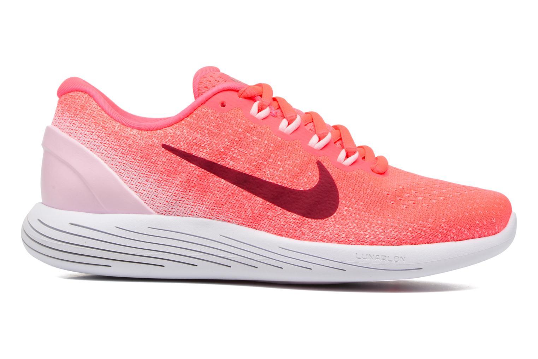 Chaussures de sport Nike Wmns Nike Lunarglide 9 Rose vue derrière