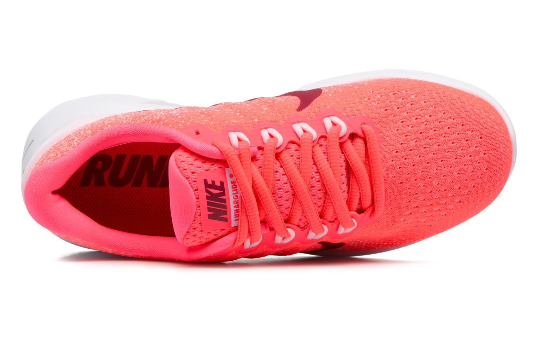 Chaussures de sport Nike Wmns Nike Lunarglide 9 Rose vue gauche