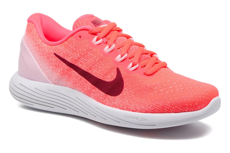 Chaussures de sport Nike Wmns Nike Lunarglide 9 Rose vue détail/paire