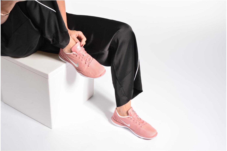 Zapatillas de deporte Nike Wmns Flex Supreme Tr 5 Bionic Rosa vista de abajo