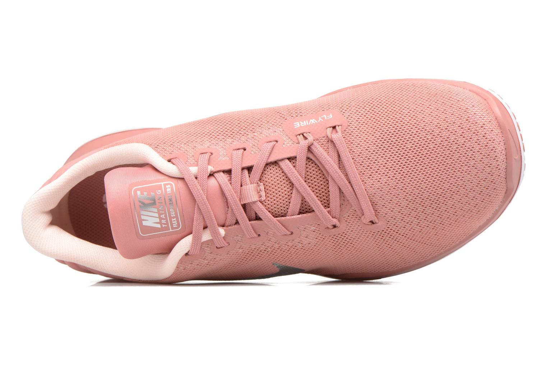 Zapatillas de deporte Nike Wmns Flex Supreme Tr 5 Bionic Rosa vista lateral izquierda