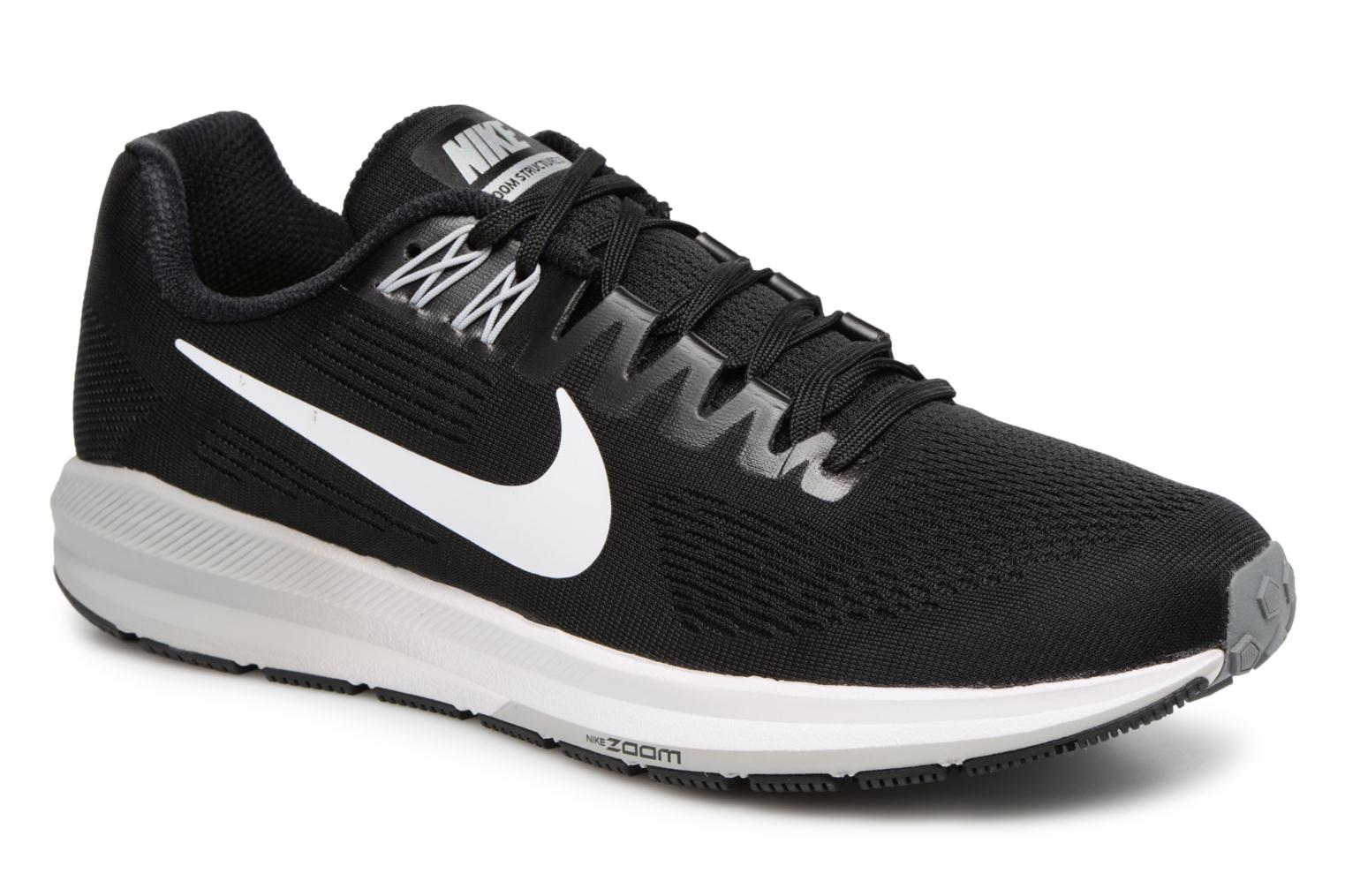Nike Air Zoom Structure 21 Black/White-Wolf Grey-Cool Grey