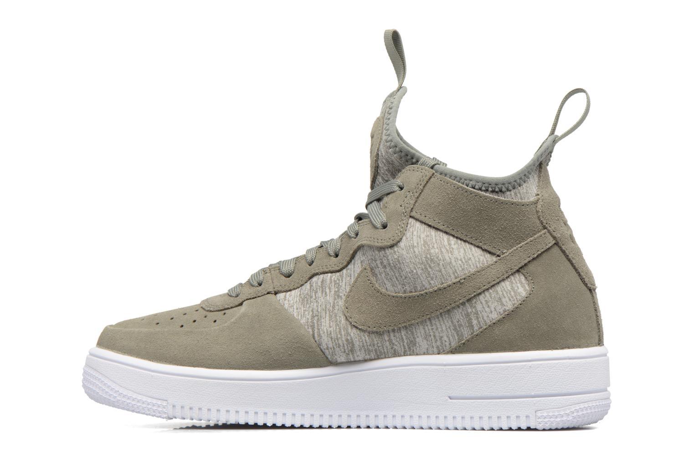 Baskets Nike Air Force 1 Ultraforce Mid Prm Vert vue face