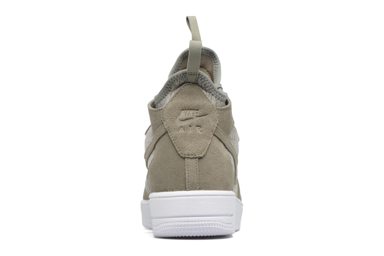 Baskets Nike Air Force 1 Ultraforce Mid Prm Vert vue droite
