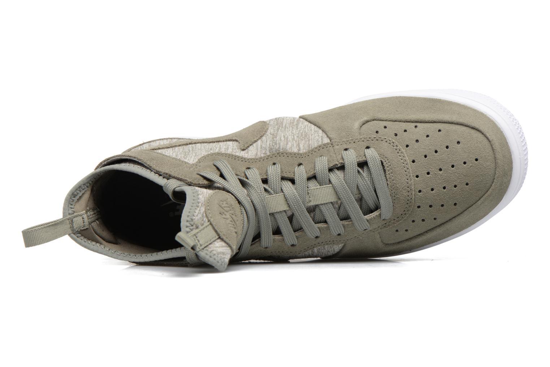 Baskets Nike Air Force 1 Ultraforce Mid Prm Vert vue gauche