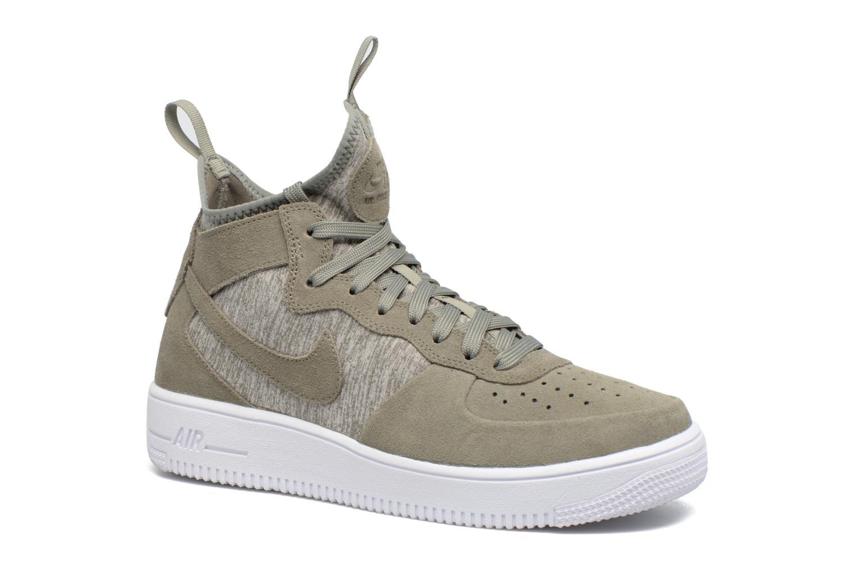 Baskets Nike Air Force 1 Ultraforce Mid Prm Vert vue détail/paire