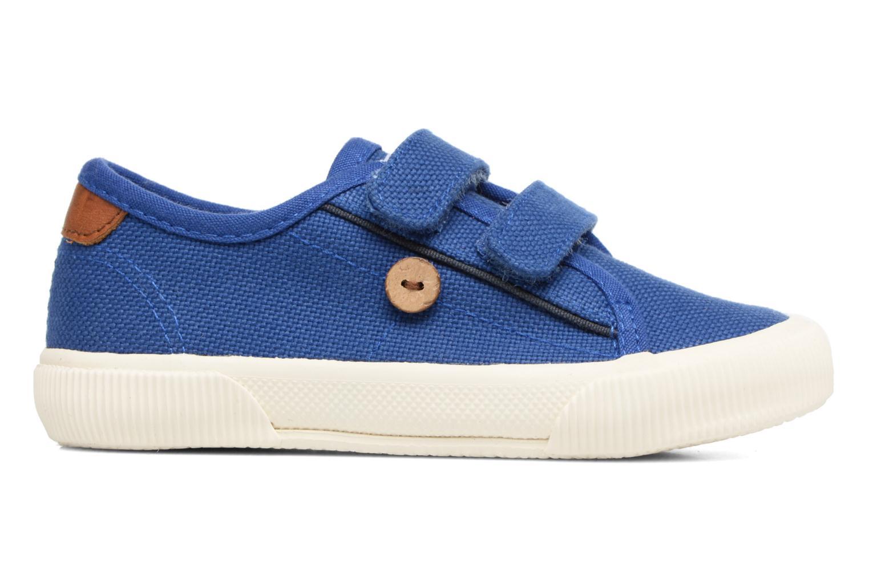 Baskets Faguo Birch Velcro Bleu vue derrière