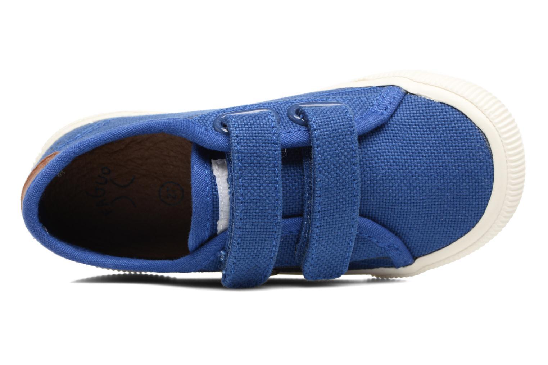 Sneakers Faguo Birch Velcro Blauw links