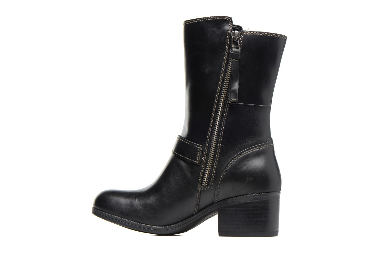 Boots & wellies Clarks Maypearl Oasis Black front view