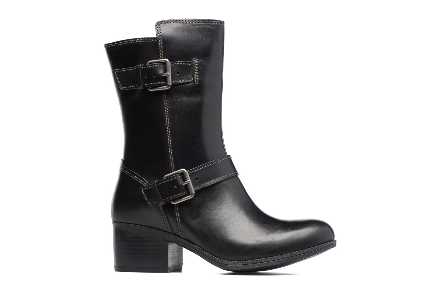 Boots & wellies Clarks Maypearl Oasis Black back view