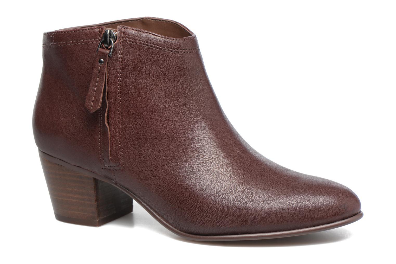 Bottines et boots Clarks Maypearl Alice Marron vue détail/paire
