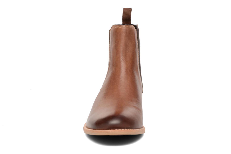 Bottines et boots Clarks Maypearl Nala Marron vue portées chaussures