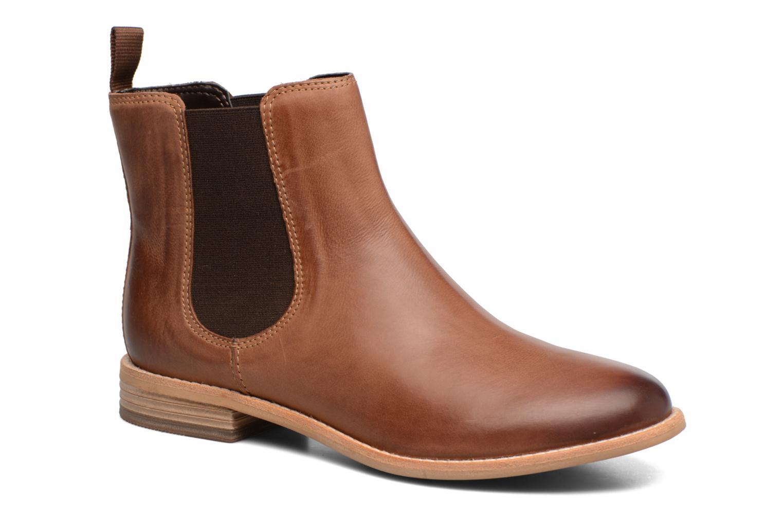Bottines et boots Clarks Maypearl Nala Marron vue détail/paire