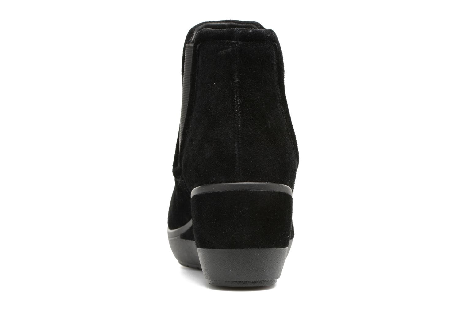 Ankle boots Clarks Wynnmere Mara Black view from the right