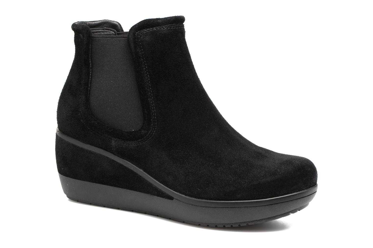 Ankle boots Clarks Wynnmere Mara Black detailed view/ Pair view