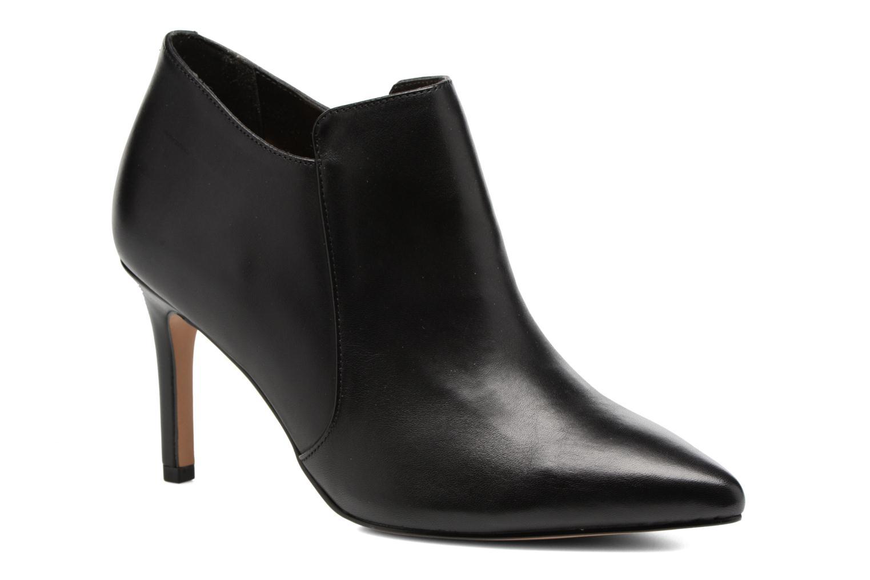 Dinah Spice Black leather
