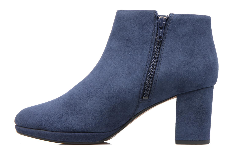 Bottines et boots Clarks Kelda Nights1 Bleu vue face