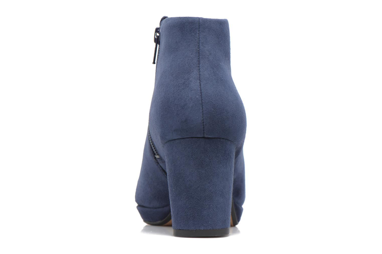 Bottines et boots Clarks Kelda Nights1 Bleu vue droite