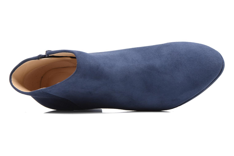 Bottines et boots Clarks Kelda Nights1 Bleu vue gauche