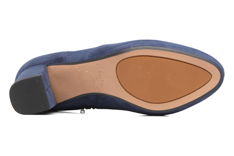 Bottines et boots Clarks Kelda Nights1 Bleu vue haut