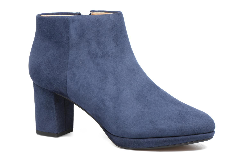 Bottines et boots Clarks Kelda Nights1 Bleu vue détail/paire