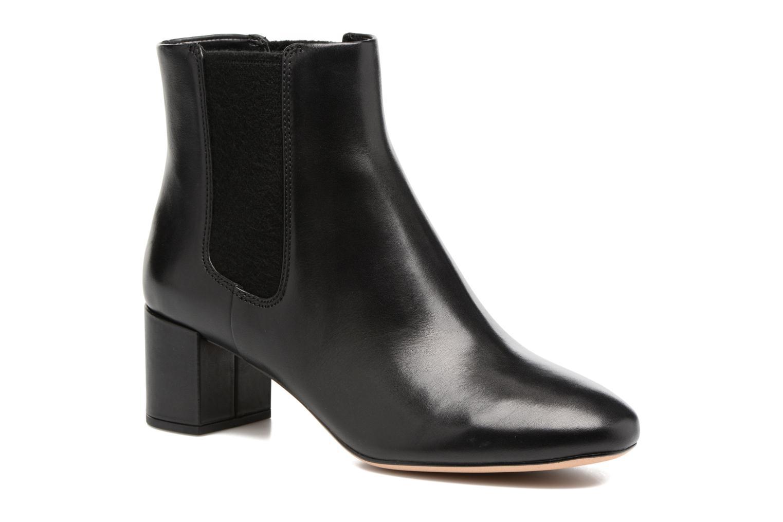 Orabella Anna Black leather