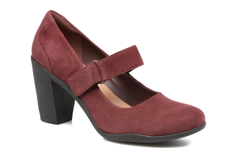 Grandes descuentos últimos zapatos Clarks Adya Clara (Vino) - Zapatos de tacón Descuento