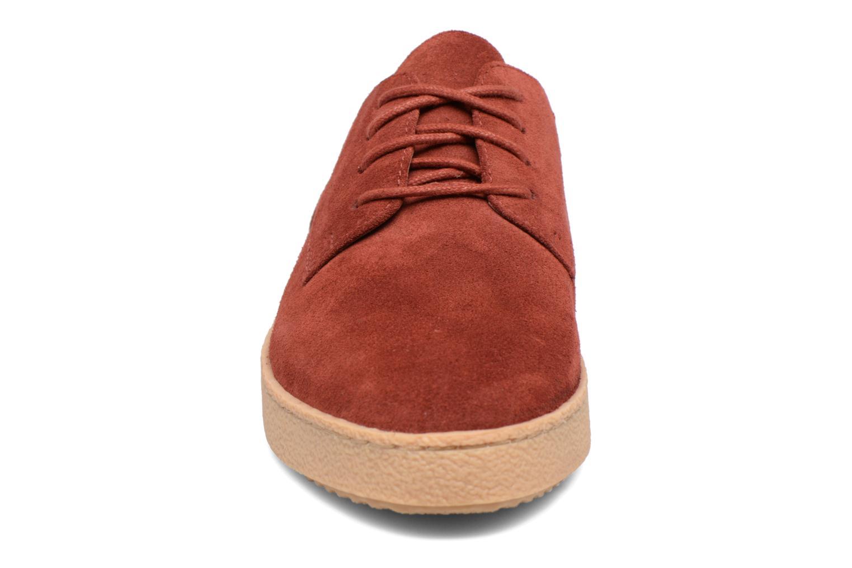 Chaussures à lacets Clarks Lillia Lola Rouge vue portées chaussures
