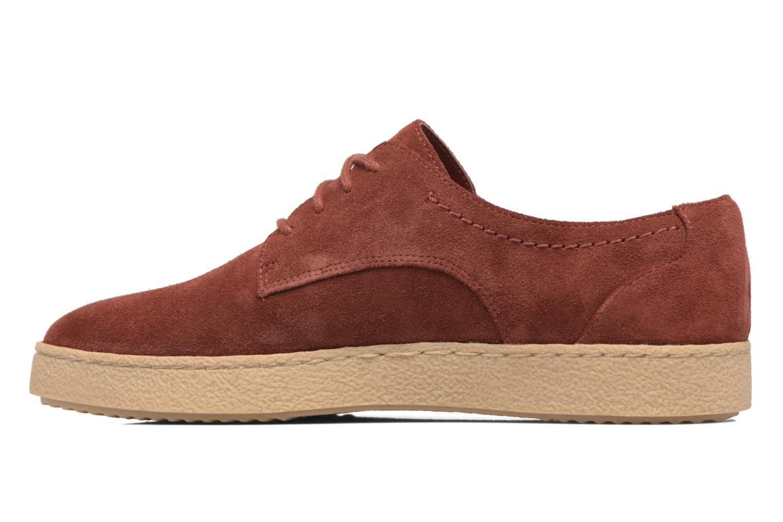 Chaussures à lacets Clarks Lillia Lola Rouge vue face