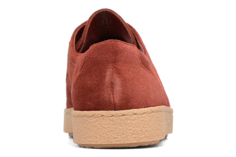 Chaussures à lacets Clarks Lillia Lola Rouge vue droite