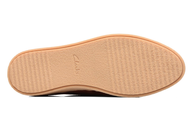 Chaussures à lacets Clarks Lillia Lola Rouge vue haut