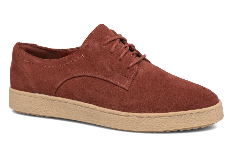 Chaussures à lacets Clarks Lillia Lola Rouge vue détail/paire