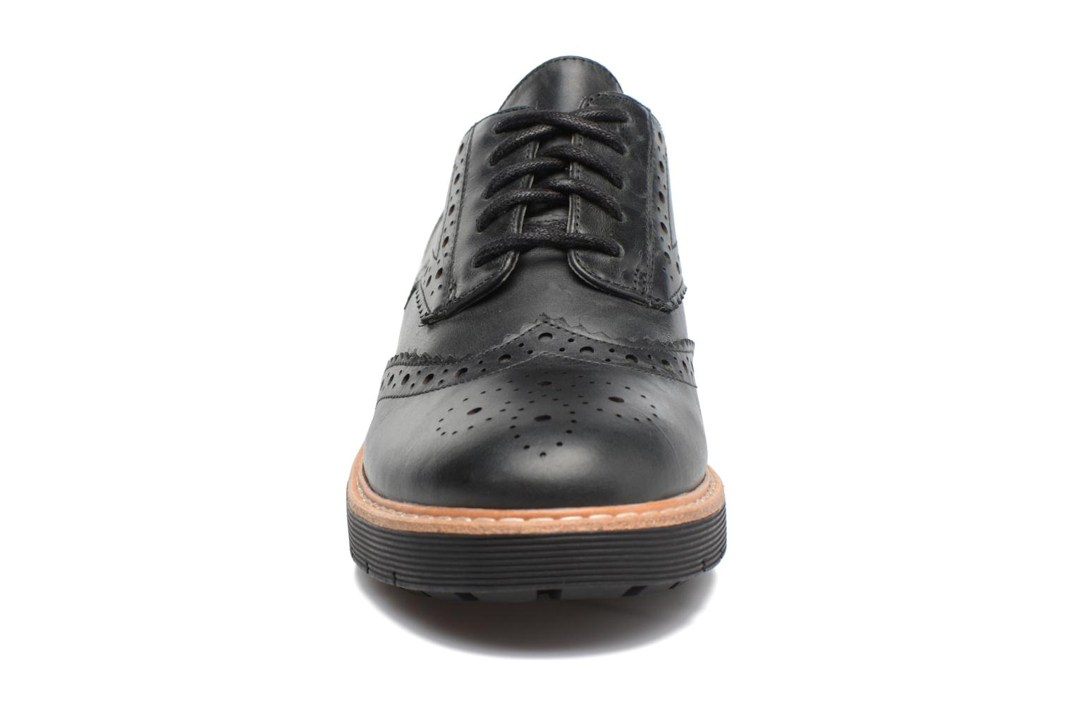 Lace-up shoes Clarks Witcombe Echo Black model view