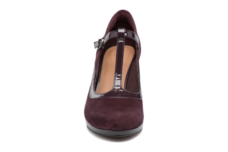 Escarpins Clarks Chorus Pitch Violet vue portées chaussures