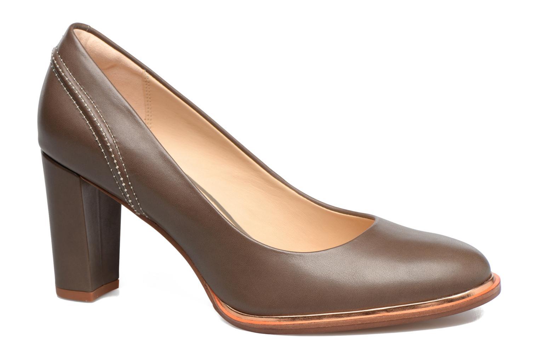 Ellis Edith Grey leather