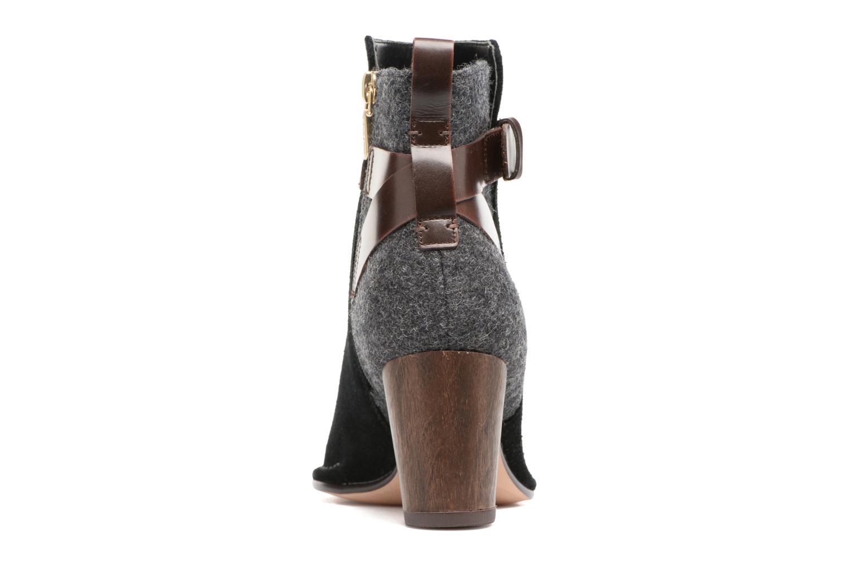 Bottines et boots Clarks Spiced River Noir vue droite