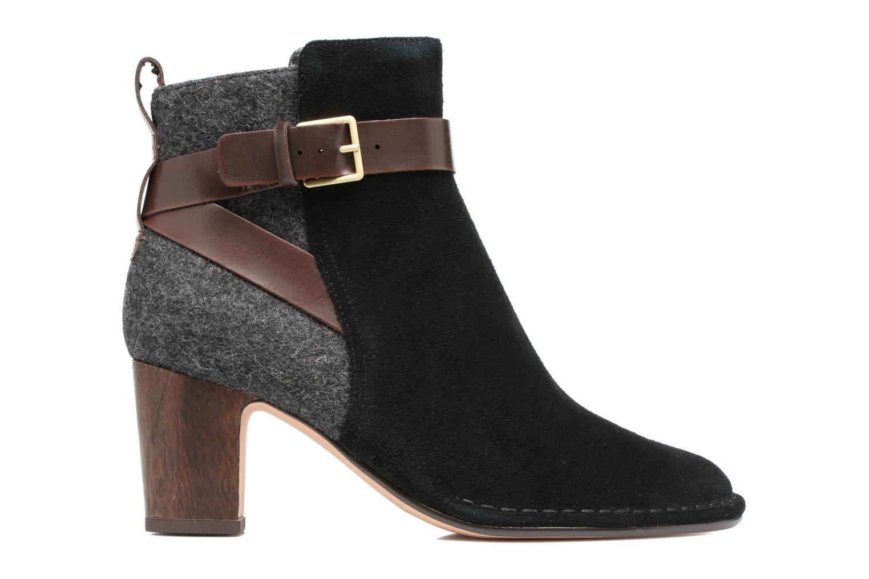 Bottines et boots Clarks Spiced River Noir vue derrière