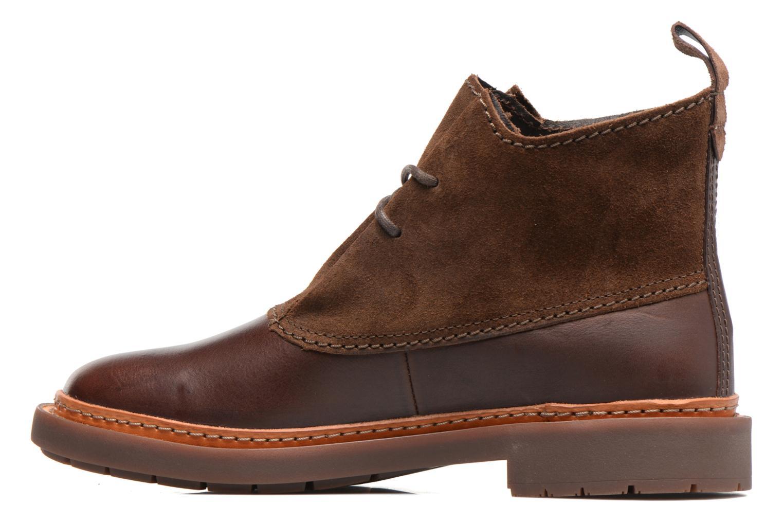Bottines et boots Clarks Trace Fawn Marron vue face