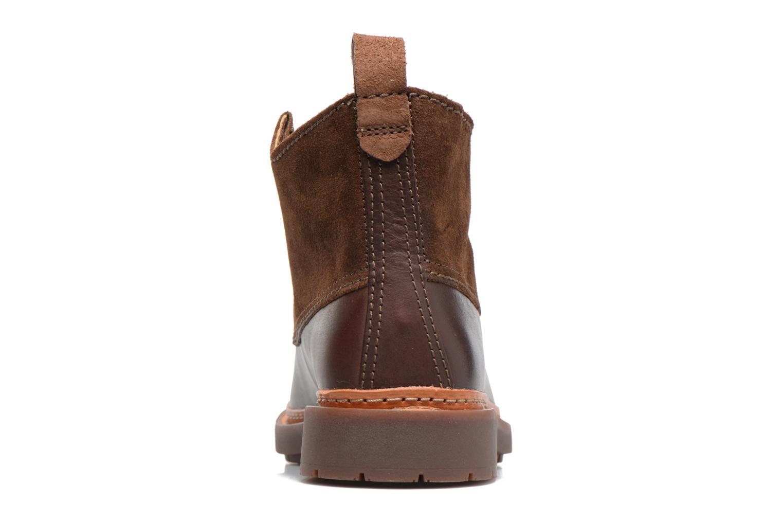 Bottines et boots Clarks Trace Fawn Marron vue droite