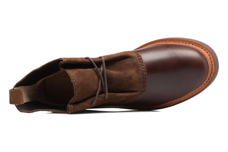 Bottines et boots Clarks Trace Fawn Marron vue gauche